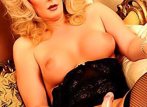 Tgirl In Black Lace