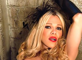 Beautiful Blond Transexual Bang's Slave