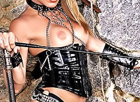 Leather Boot Hooker