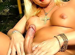 Huge Tit Blonde Femboy