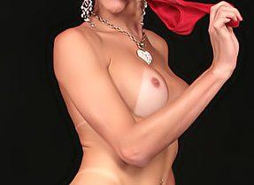 Blonde Femboy In Red