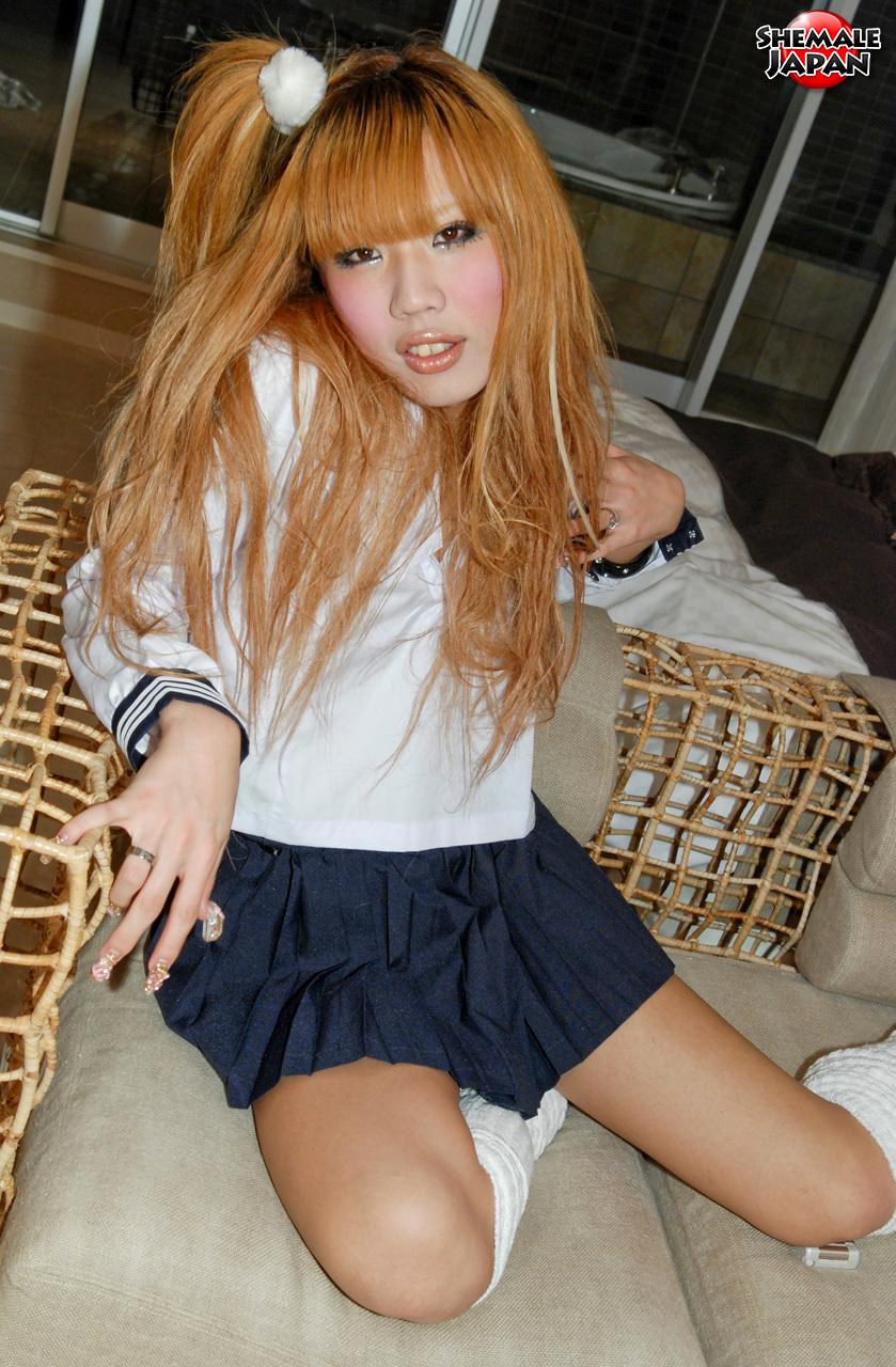 Femboy Japan: Reina – Filthy Teen Newhalf!