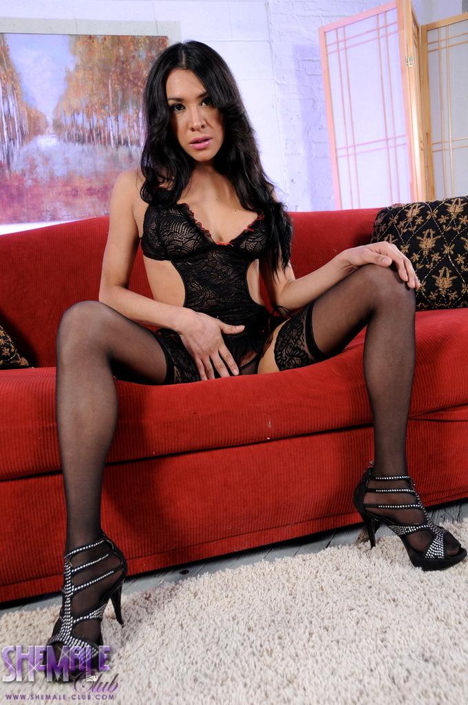 Gorgeous Ximena Stroking Her Enormous Tool