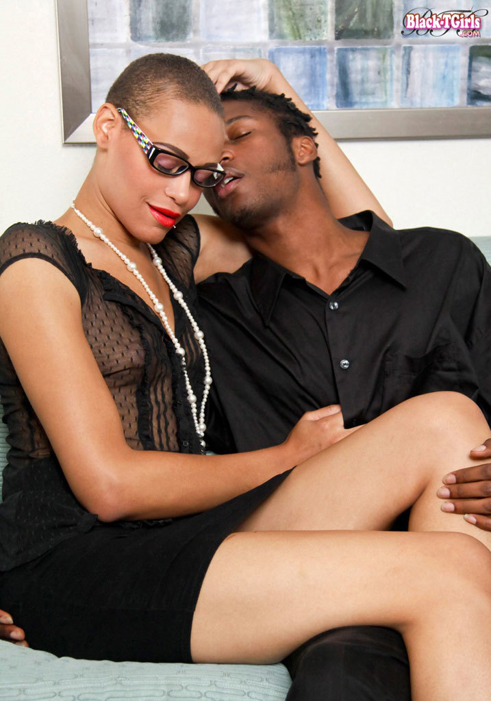 Black Transsexual Nailed Hard!