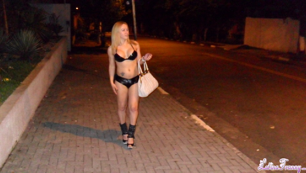 Nikki With TS Street Whores