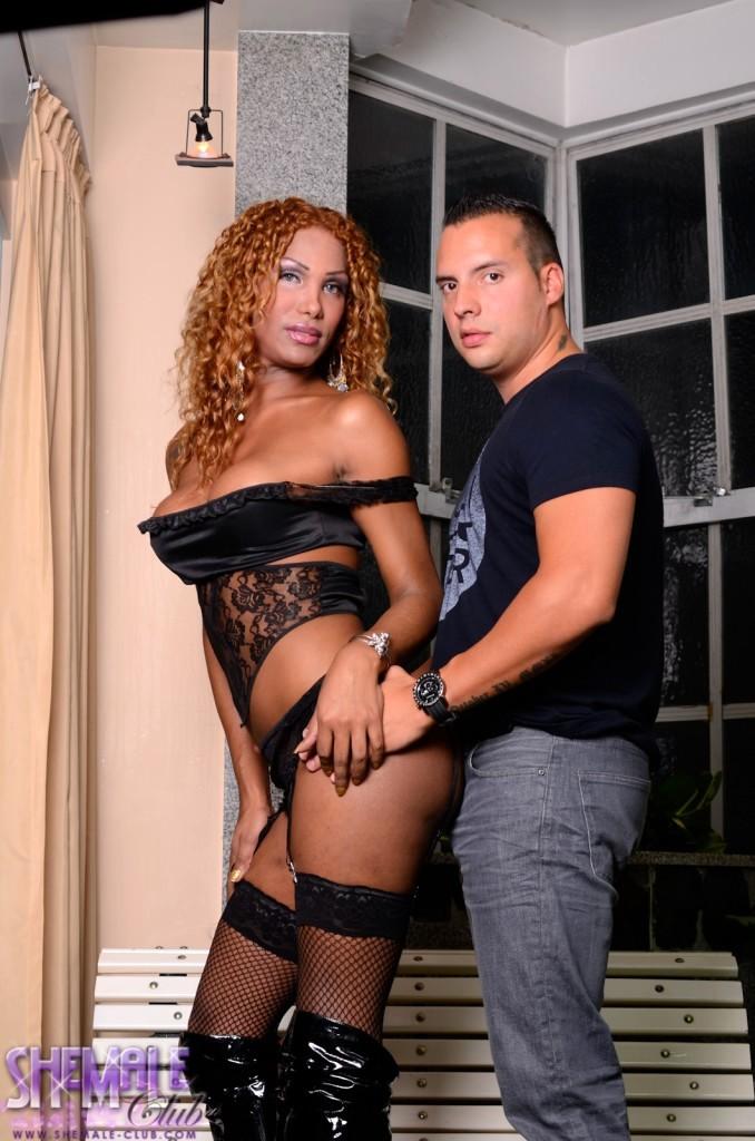 Black Marielle Rides A Long Hardcore Cock