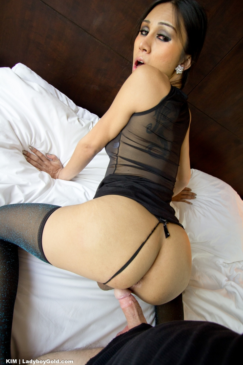 Kim Gives A Spicy Rimjob Blow Job And Has Her Gaping Bum Filled