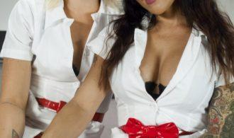 Nurse Sex – Girl On Tranny Girl Action In The Hospital