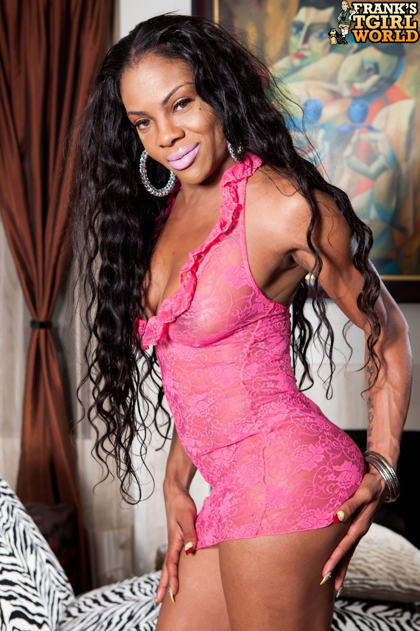 Ilza Is A Inviting Girl With A Well Toned Body And A Huge Cock!