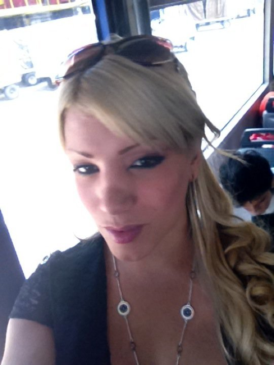 Sensuous Blonde Transexual Mia Torres
