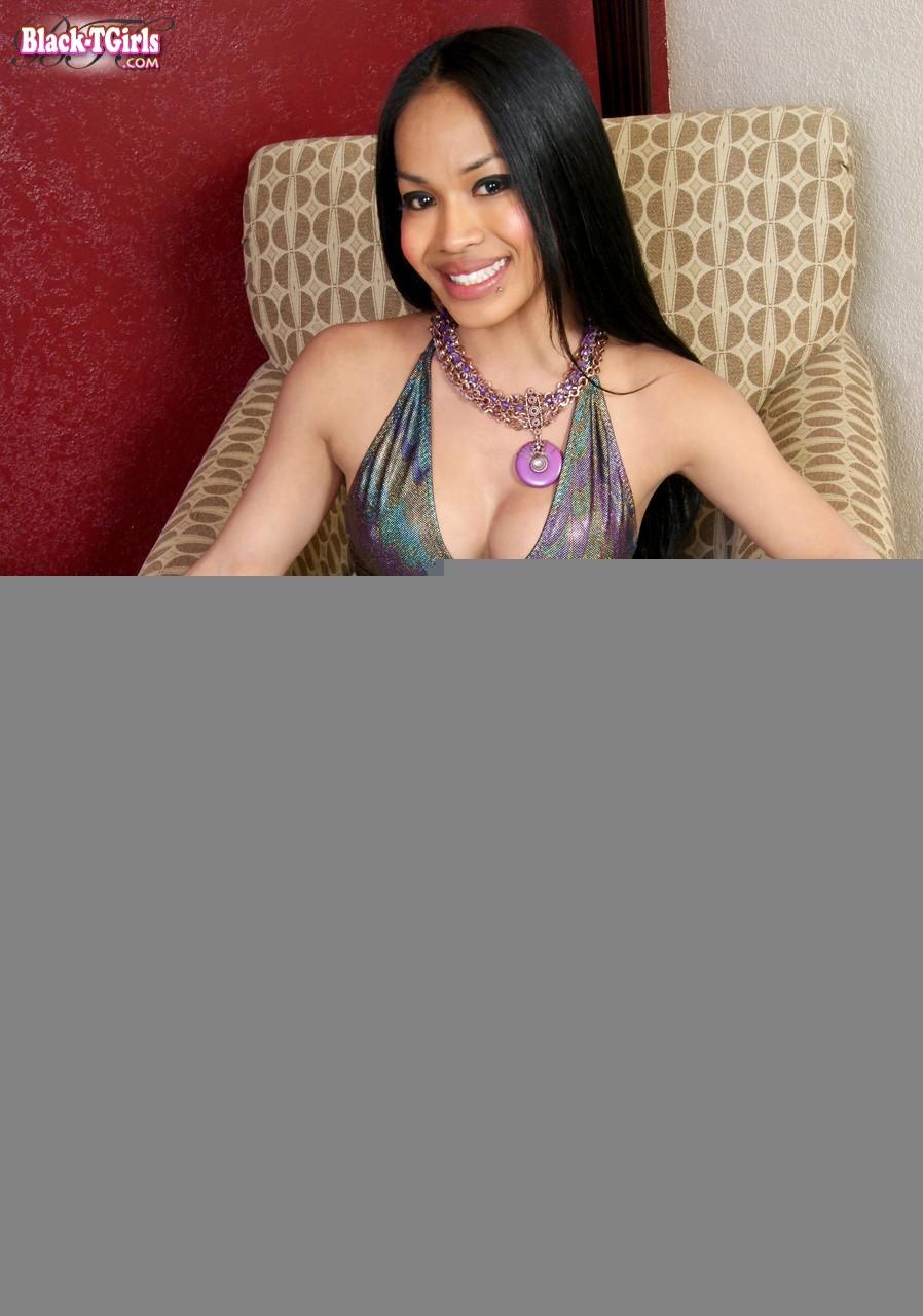 Inviting Latino Black Transexual Noriko